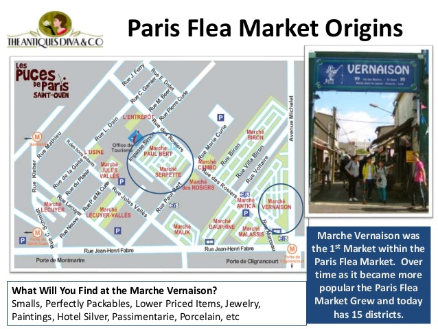 iParis Flea Market Map (2)